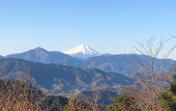 高尾山より