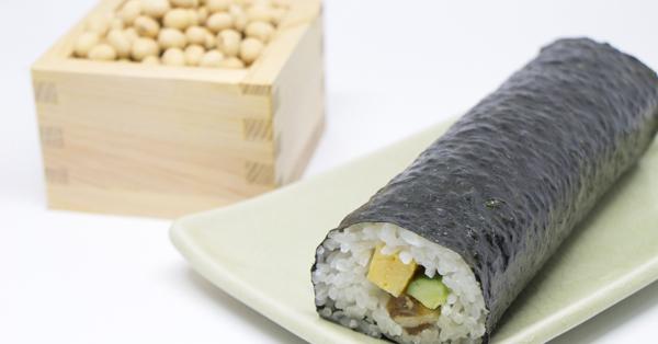 恵方巻&豆