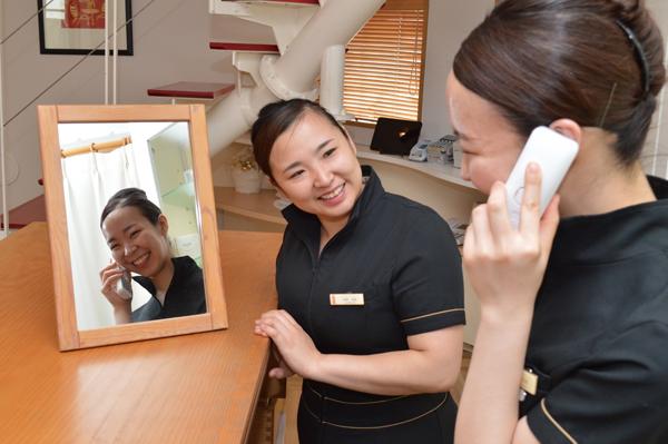 日本一の接客笑顔