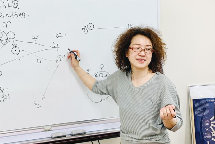 西洋占星術研究家・アロマセラピストの登石麻恭子さん